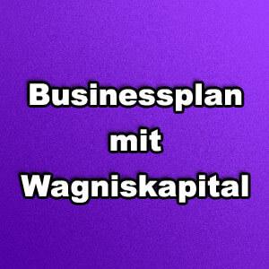 Businessplan mit Wagniskapital