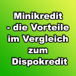 minikredit_vorteile